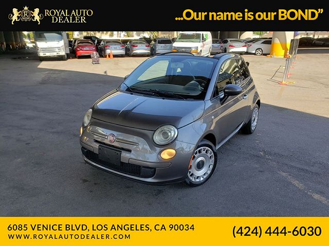used Fiat 500 2012 vin: 3C3CFFDR0CT121226