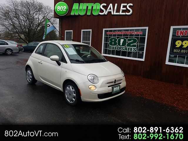 Fiat 500 2012 $2996.00 incacar.com