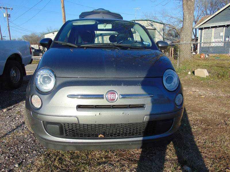Fiat 500 2013 $3899.00 incacar.com