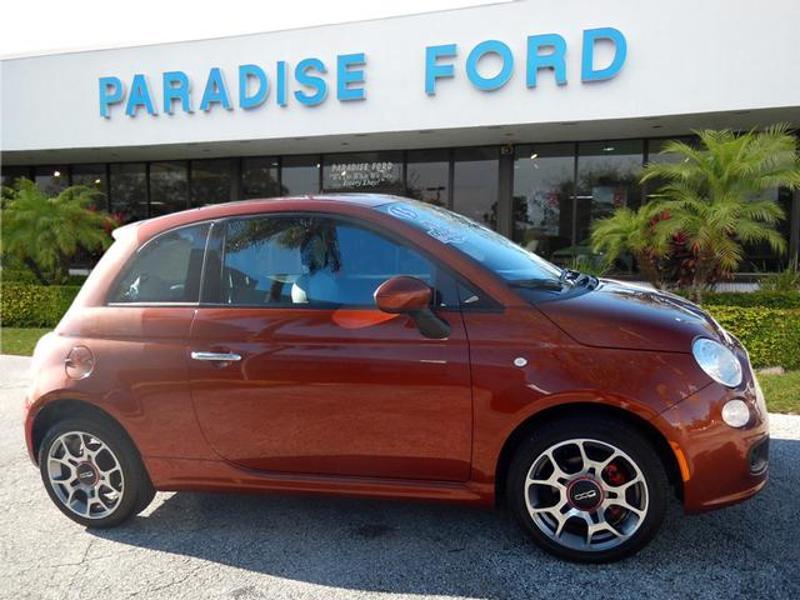 Fiat 500 2015 $7555.00 incacar.com
