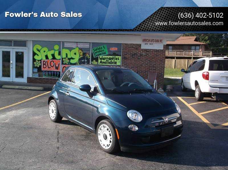 Fiat 500 2015 $5950.00 incacar.com