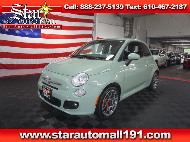 used Fiat 500 2015 vin: 3C3CFFBR0FT753828