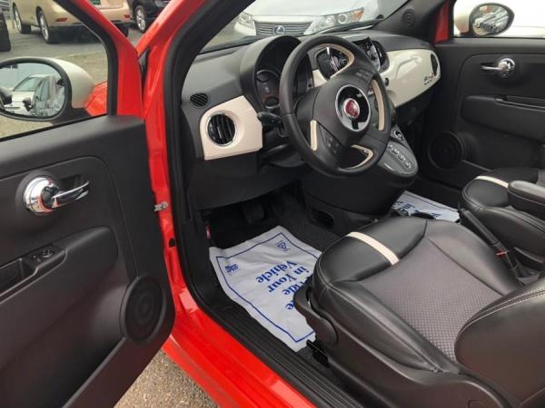 used Fiat 500e 2016 vin: 3C3CFFGE9GT113818