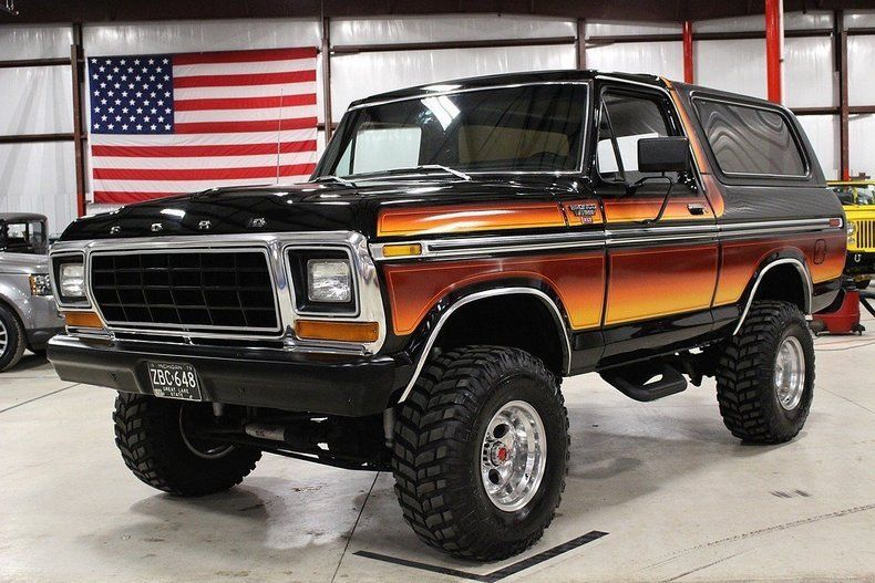 Ford Bronco 1979 $45000.00 incacar.com