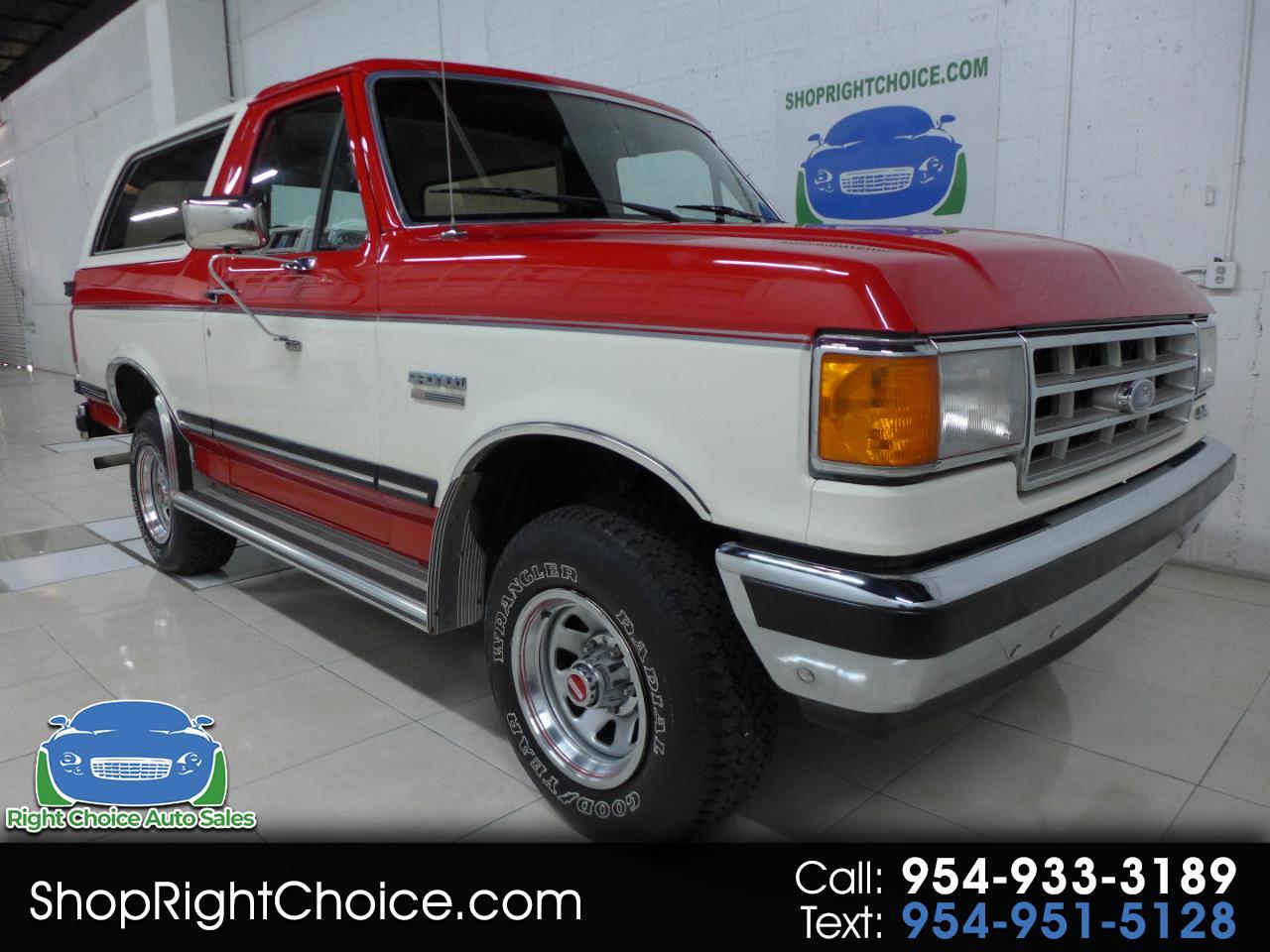 Ford Bronco 1987 $19950.00 incacar.com