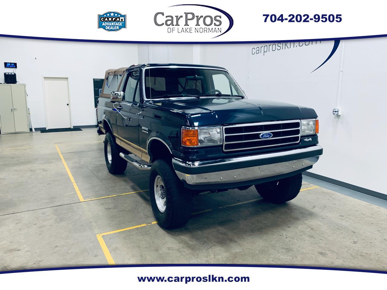 Ford Bronco 1989 $19550.00 incacar.com