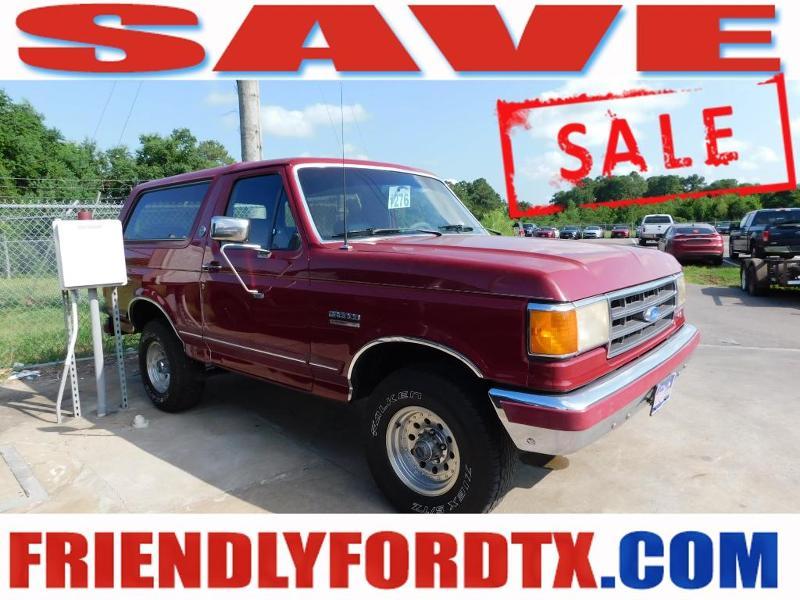 Ford Bronco 1991 $10989.00 incacar.com
