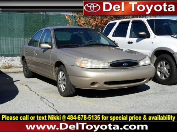 Ford Contour 1998 $3766.00 incacar.com