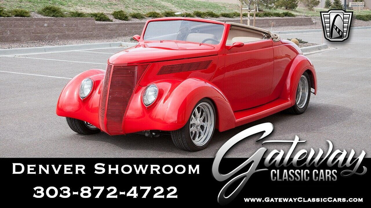 used Ford Coupe 1937 vin: 184124000