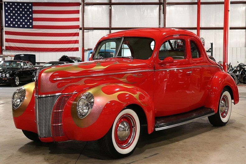 used Ford Deluxe 1940 vin: 1813858