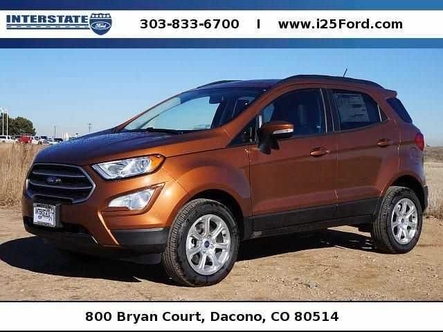 Ford EcoSport 2018 $18423.00 incacar.com