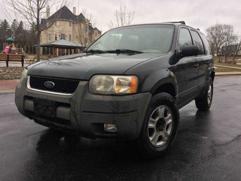 used Ford Escape 2004 vin: 1FMCU931X4KB10666
