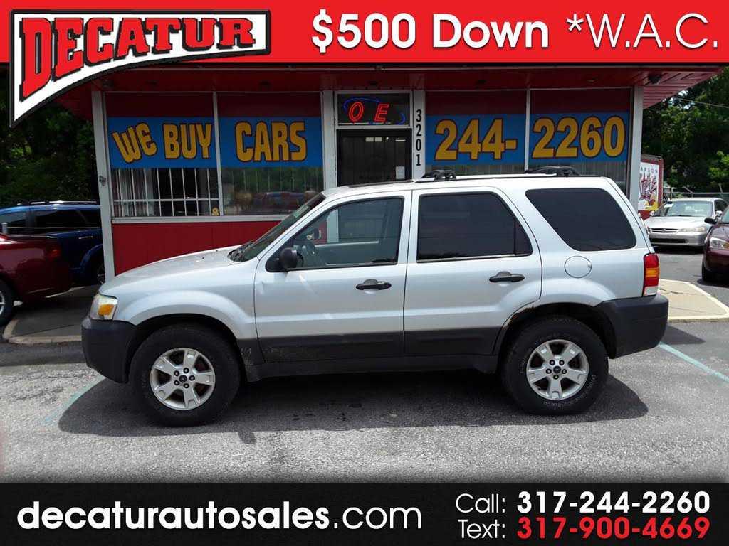 Ford Escape 2007 $500.00 incacar.com
