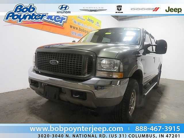 used Ford Excursion 2004 vin: 1FMSU45P54ED58743