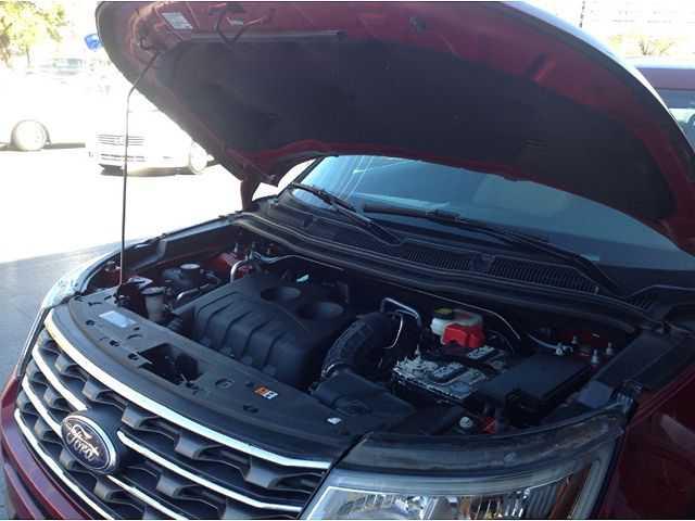 used Ford Explorer 2017 vin: 1FM5K7BH9HGB94148