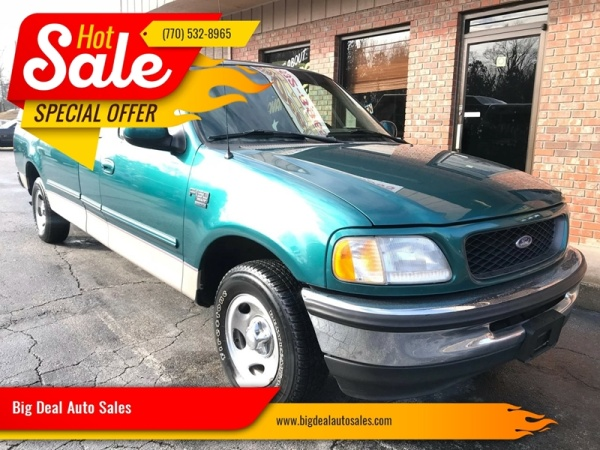 used Ford F-150 1998 vin: 1FTZX1760WNA25608