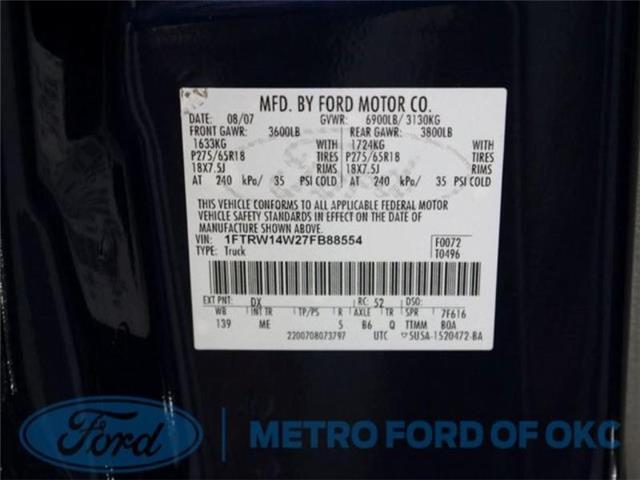 Ford F-150 2007 $8977.00 incacar.com