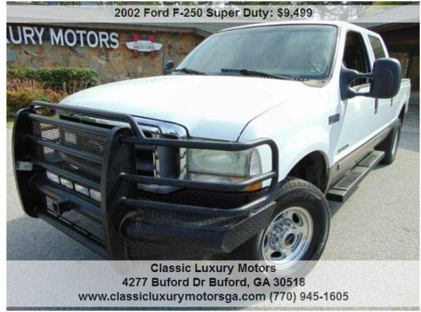 Ford F-250 2002 $9499.00 incacar.com