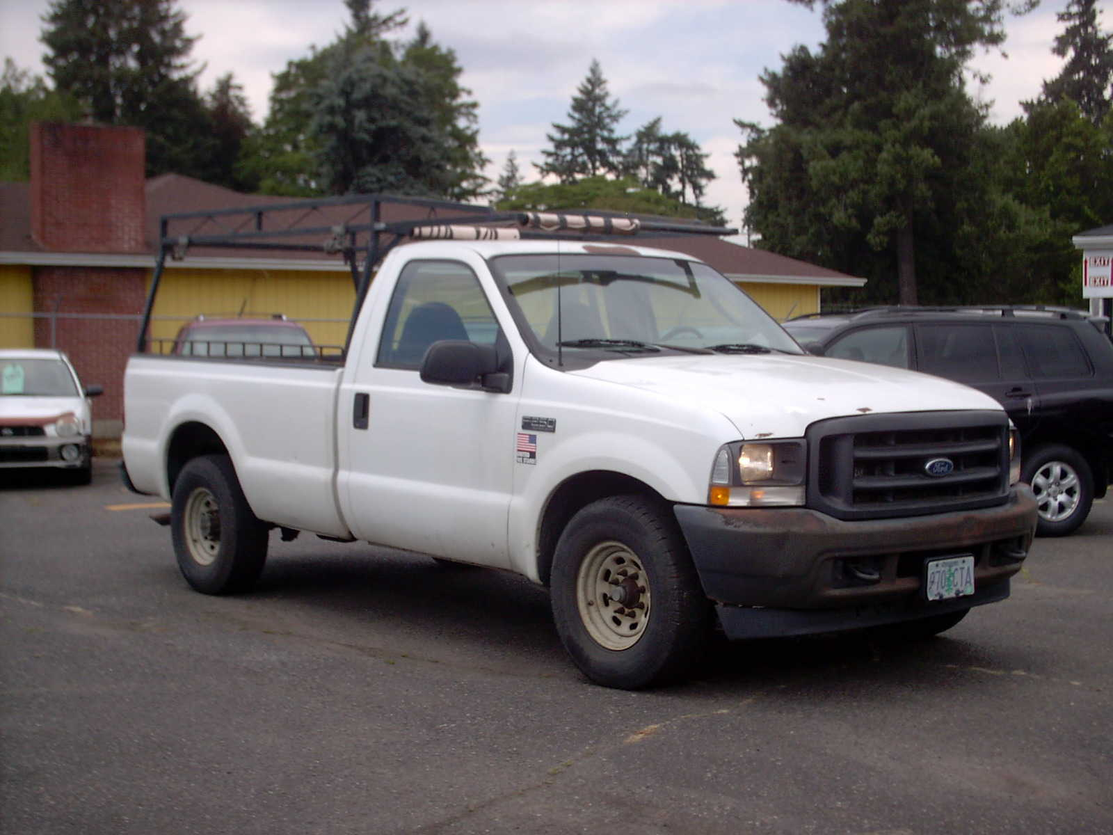 used Ford F-250 2003 vin: 3FTNF20L73MB31583