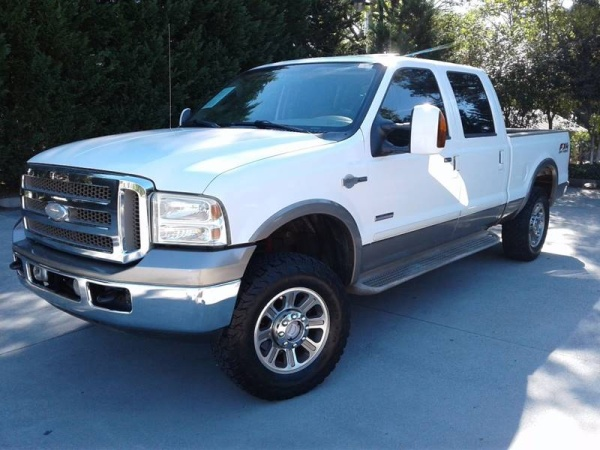 used Ford F-250 2005 vin: 1FTSW21PX5EA79914