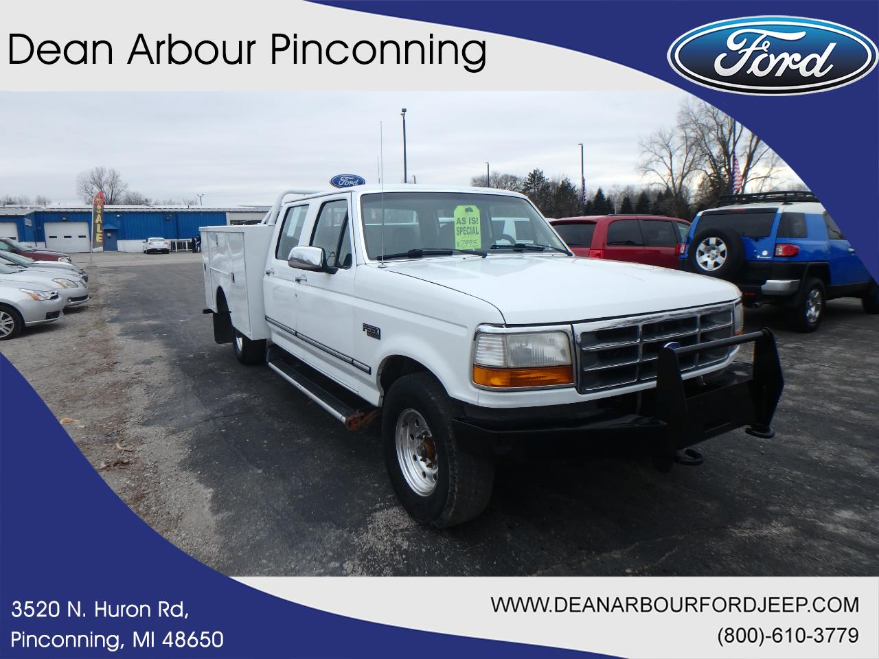 Ford F-350 1995 $6895.00 incacar.com