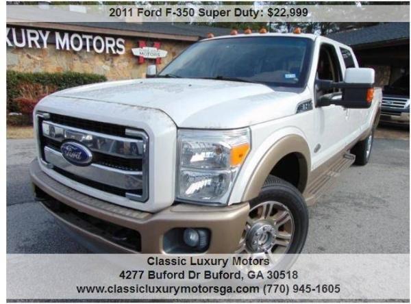 Ford F-350 2011 $22999.00 incacar.com