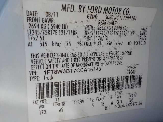 Ford F-350 2012 $20900.00 incacar.com