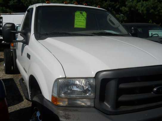 used Ford F-450 2003 vin: 1FDXF46P43ED89723