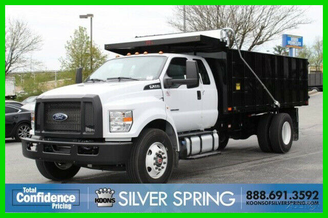 used Ford F-650SD 2019 vin: 1FDNX6DC6KDF07016