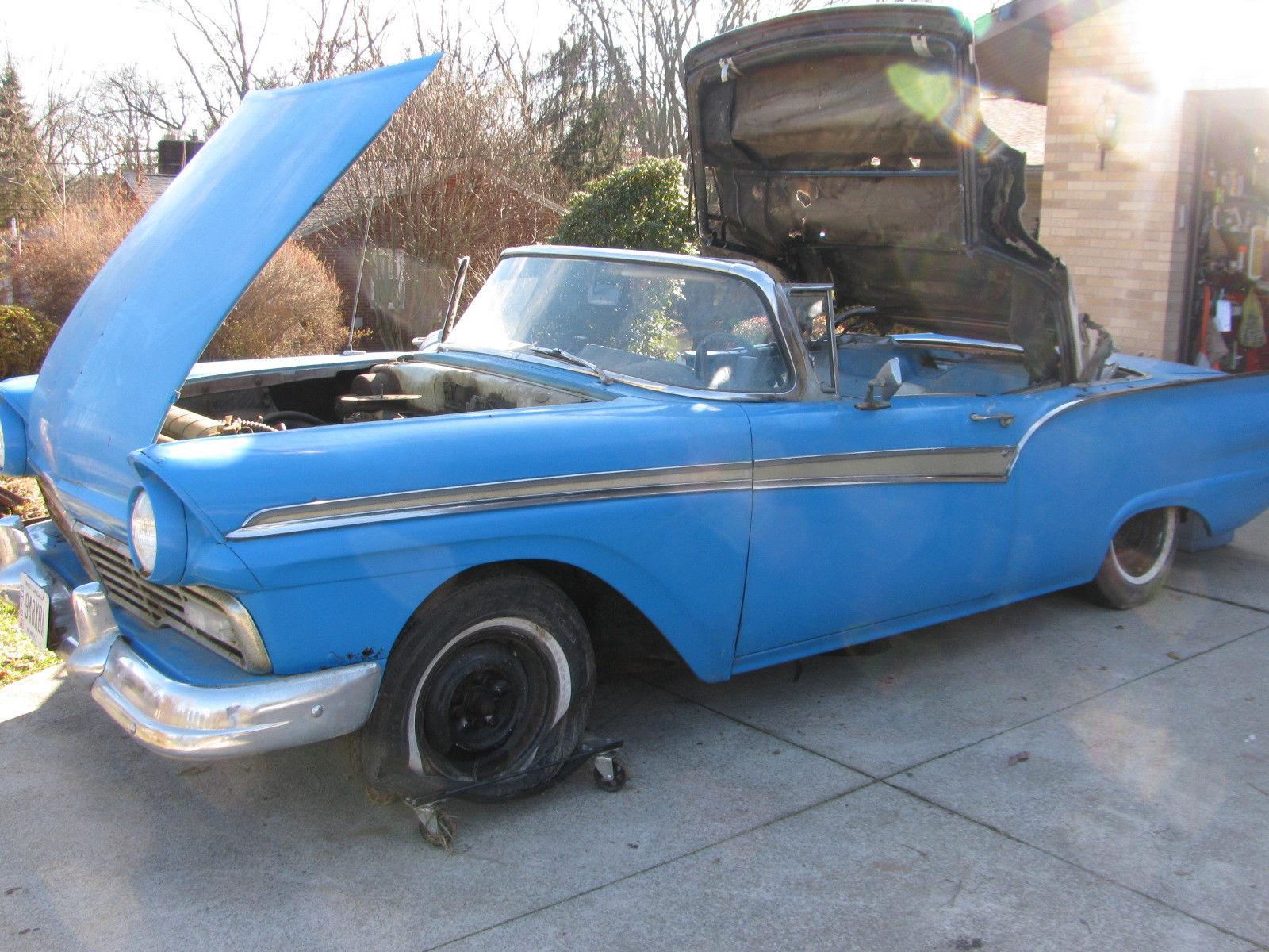 Ford Fairlane 1957 $7500.00 incacar.com