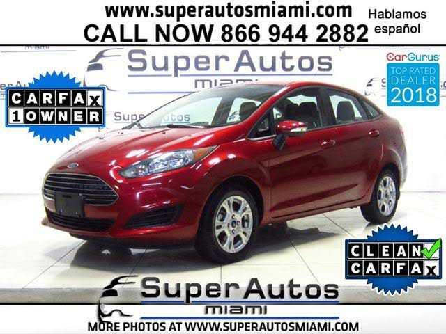 Ford Fiesta 2016 $7486.00 incacar.com