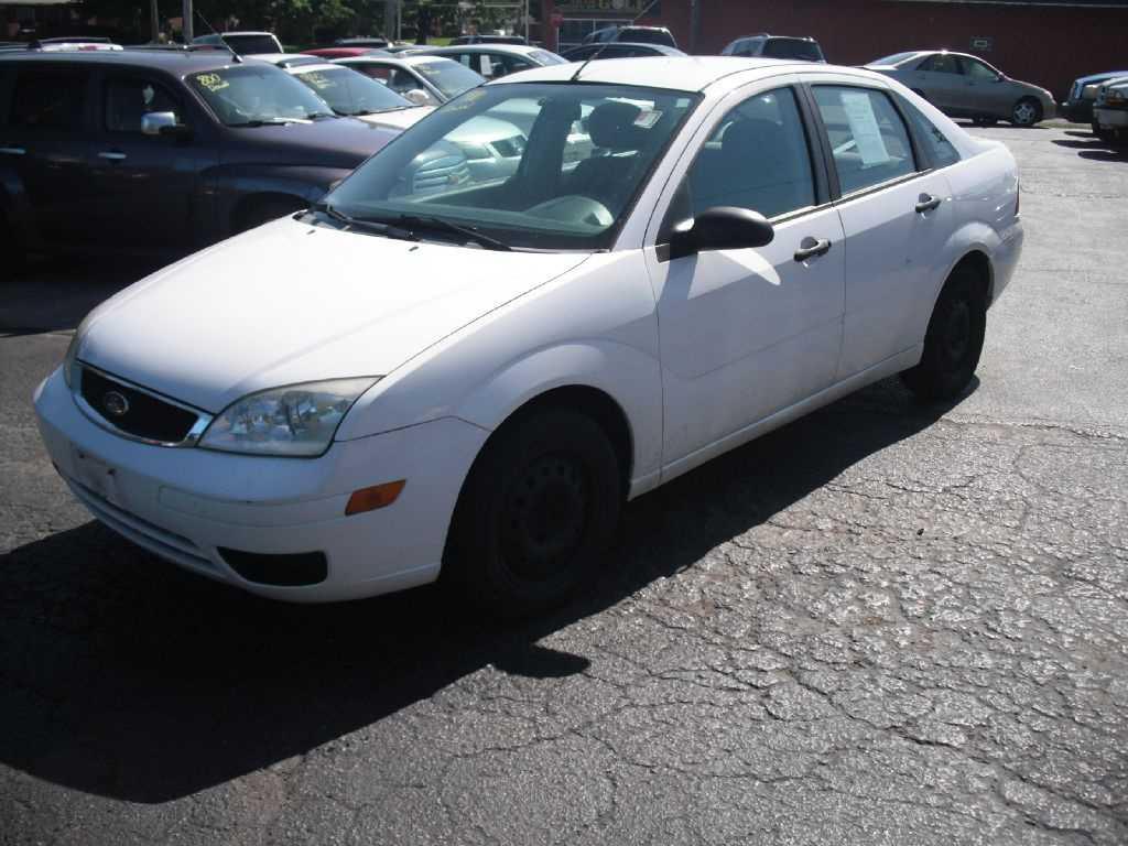 used Ford Focus 2006 vin: 1FAFP34N56W142742