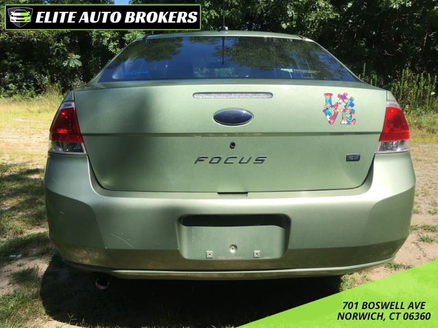 used Ford Focus 2008 vin: 1FAHP35N58W121836
