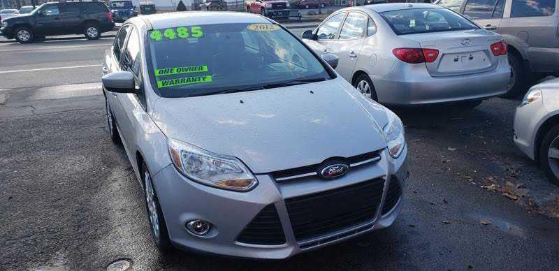 Ford Focus 2012 $4485.00 incacar.com