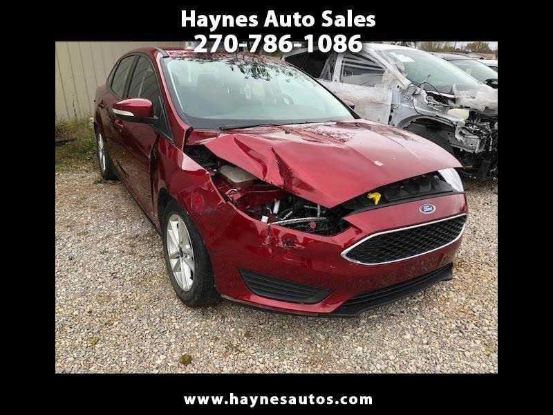Ford Focus 2016 $4250.00 incacar.com