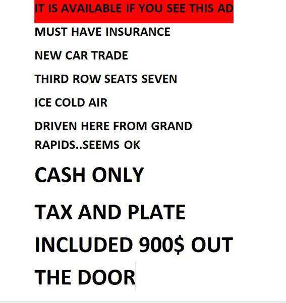 Ford Freestyle 2005 $900.00 incacar.com
