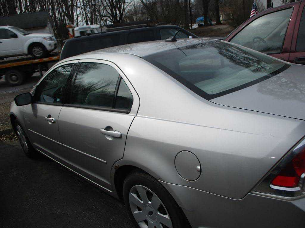 used Ford Fusion 2008 vin: 3FAHP06Z68R130502