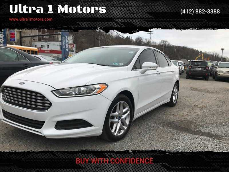 used Ford Fusion 2013 vin: 3FA6P0H72DR182304