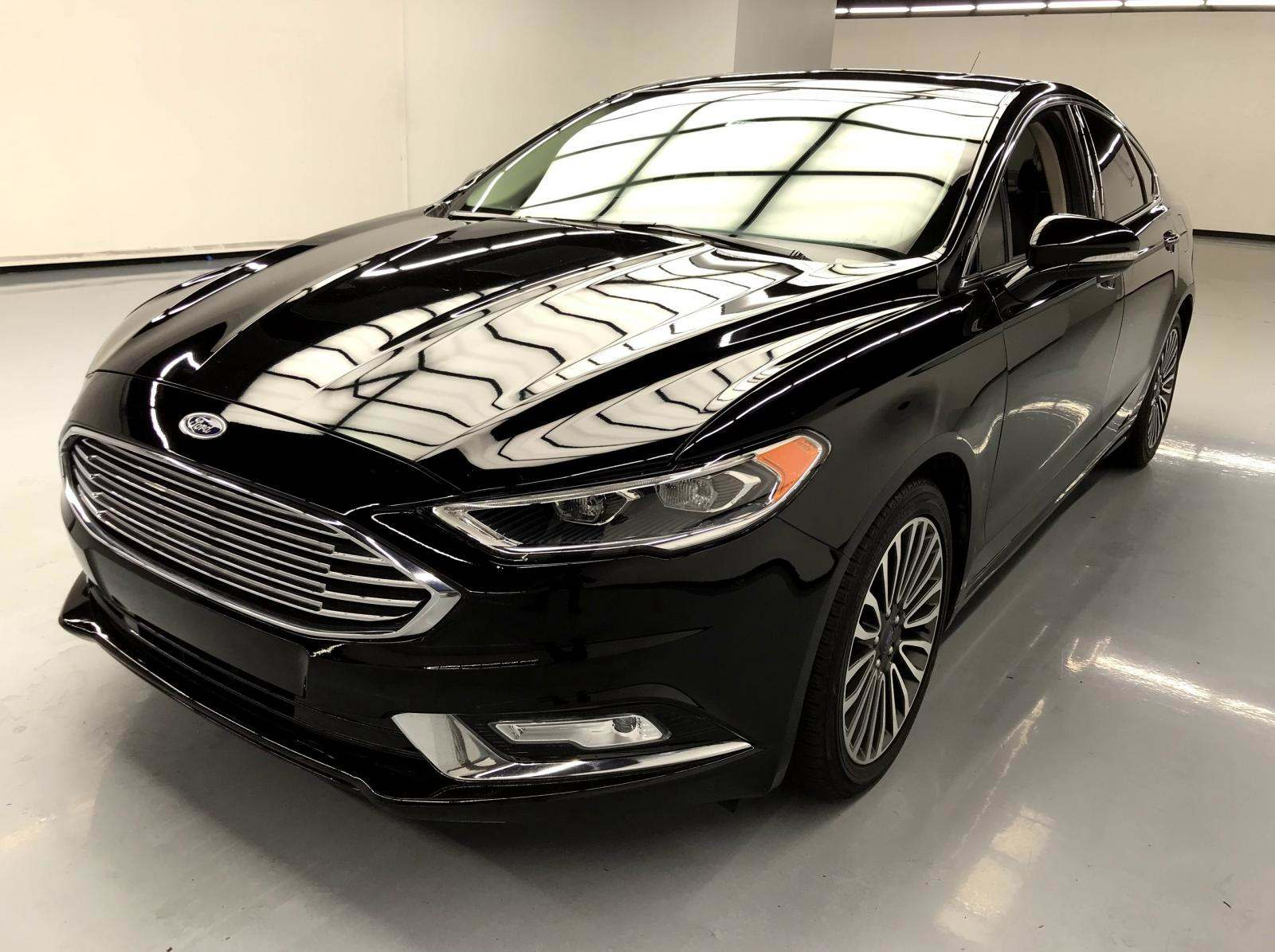 used Ford Fusion 2017 vin: 3FA6P0K91HR124099