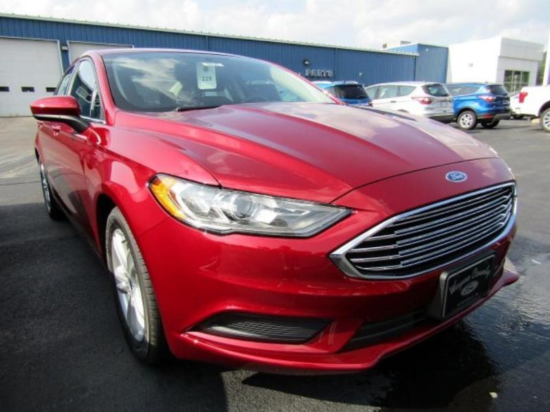 Ford Fusion 2018 $26225.00 incacar.com