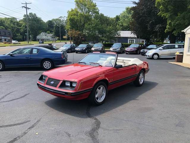 used Ford Mustang 1983 vin: 1FABP27F5DF121920