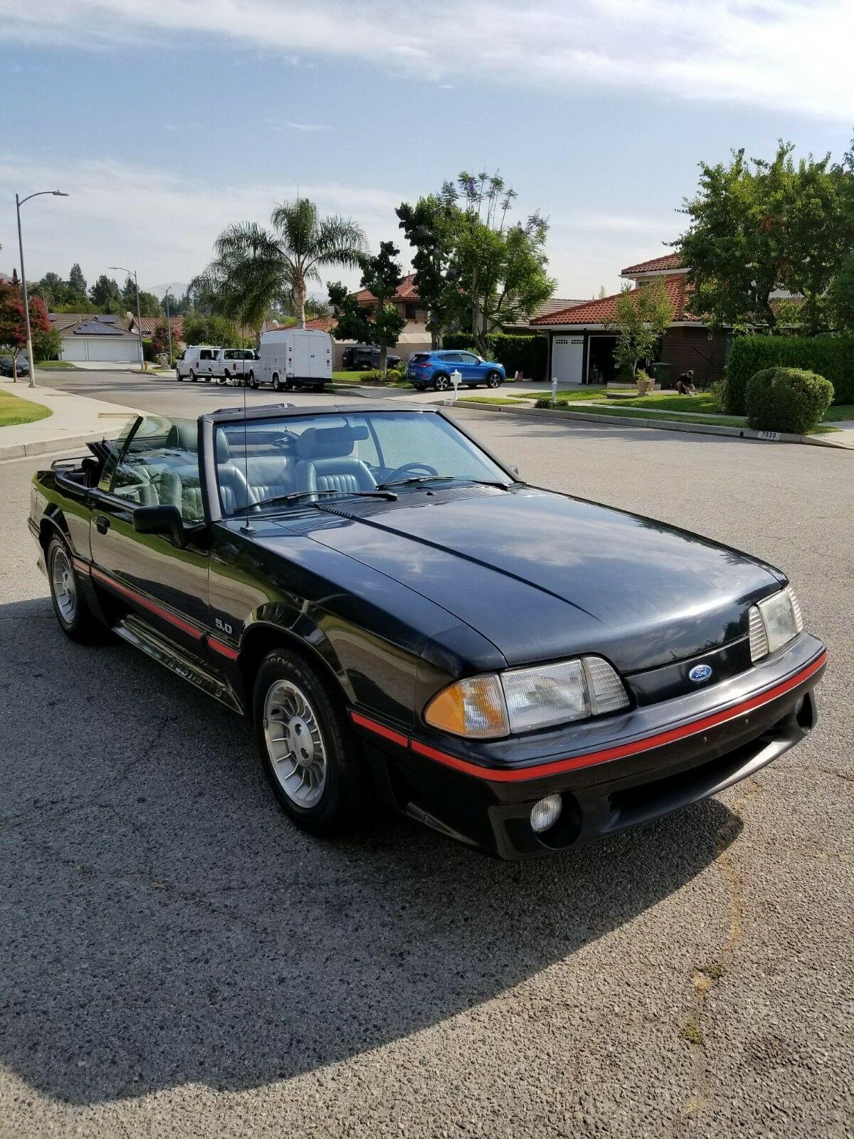 Ford Mustang 1989 $11695.00 incacar.com