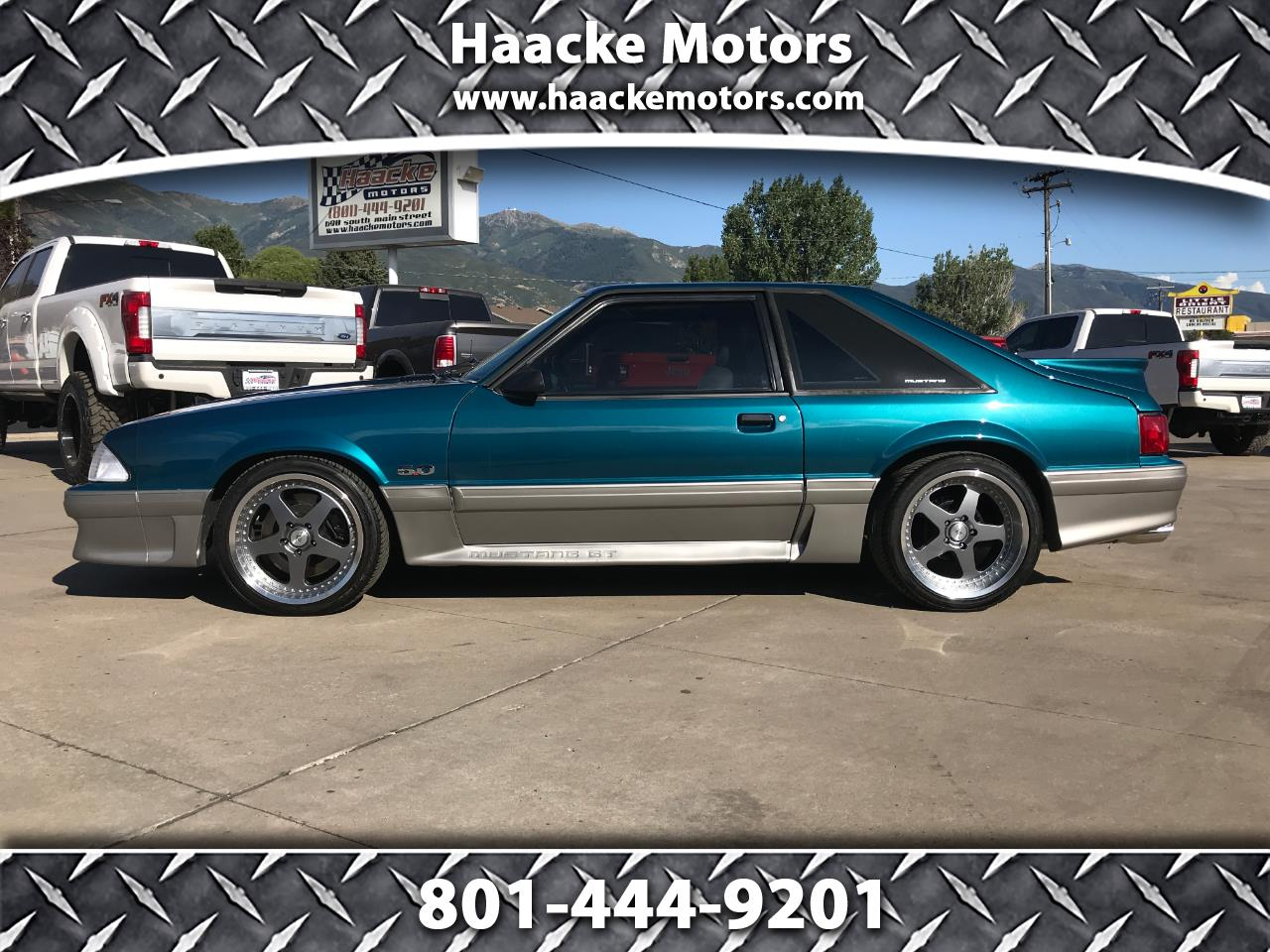 used Ford Mustang 1993 vin: 1FACP42E3PF215569