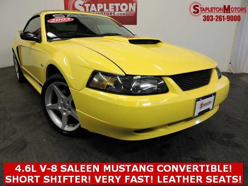 Ford Mustang 2003 $10199.00 incacar.com