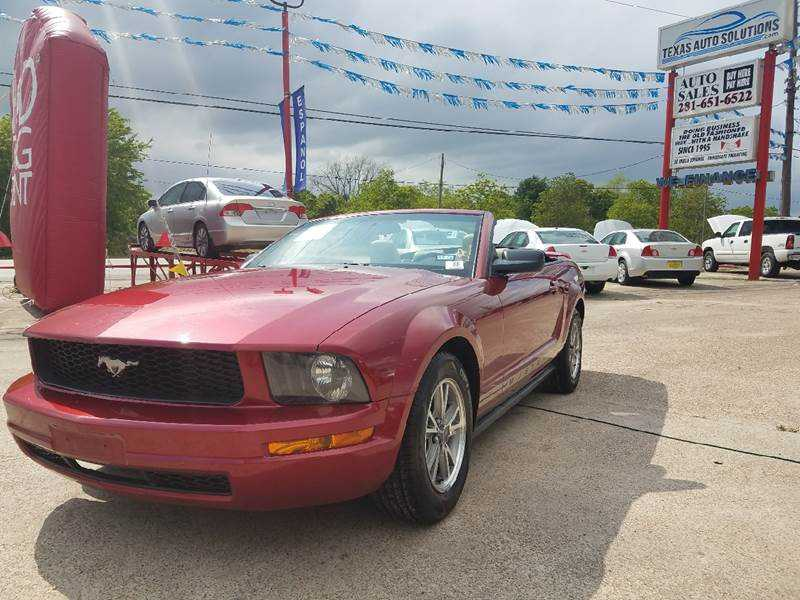 Ford Mustang 2005 $10977.00 incacar.com