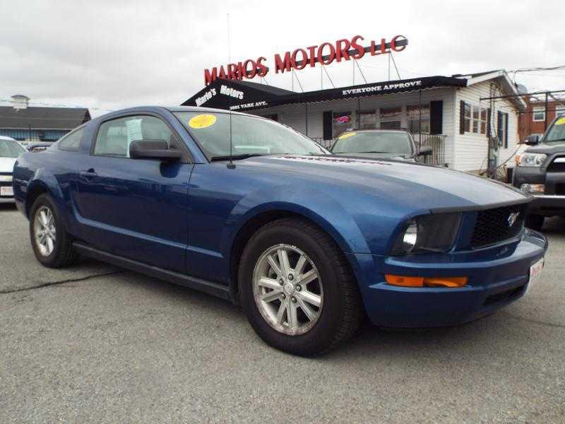 Ford Mustang 2007 $7995.00 incacar.com
