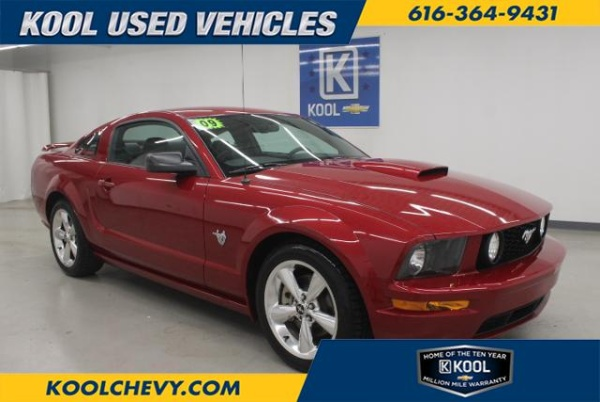used Ford Mustang 2009 vin: 1ZVHT82H195122861