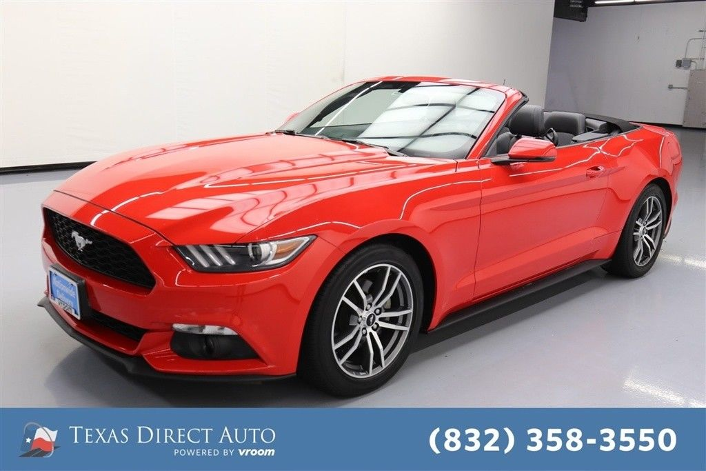 used Ford Mustang 2015 vin: 1FATP8UH4F5409661
