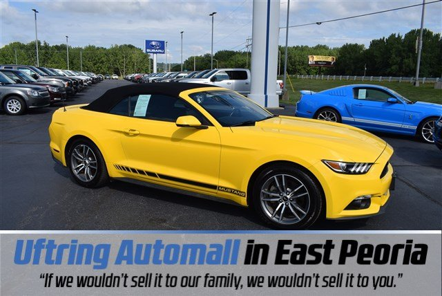 used Ford Mustang 2016 vin: 1FATP8UHXG5307962