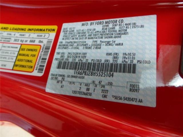 Ford Mustang 2017 $54990.00 incacar.com